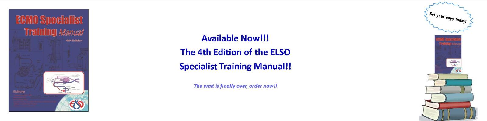 Specialist Training Manual 4th Edition'